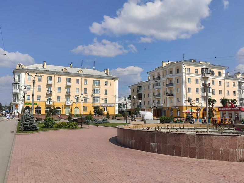 Ленинск-Кузнецкий - Площадь Победы