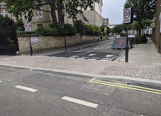 Ryland Road continuous footway