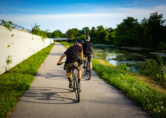 Towpath Riding