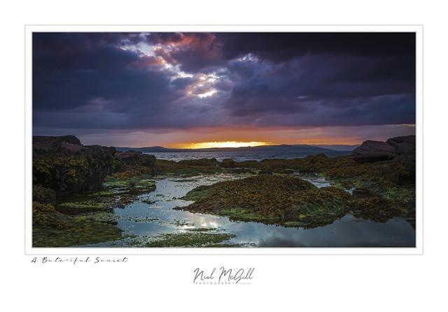 A Bute-iful Sunset-4637