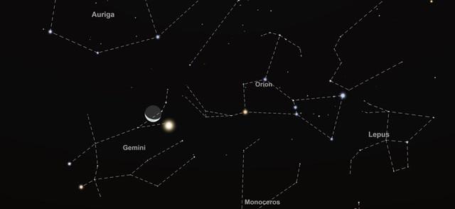 Moon Venus SKY 0600 AM 20200815