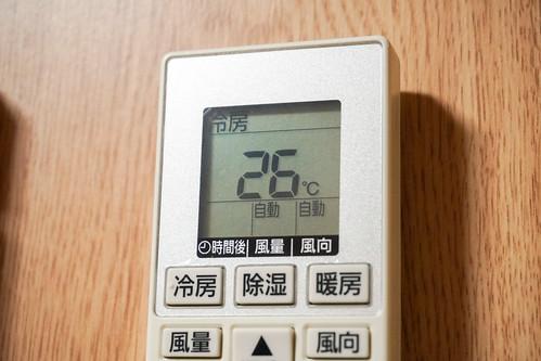 エアコンの設定温度