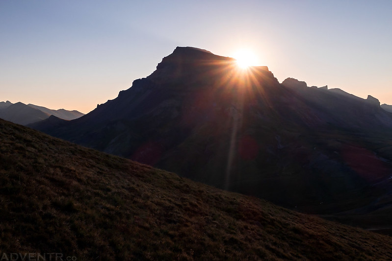 Sunrise Over Uncompahgre Peak