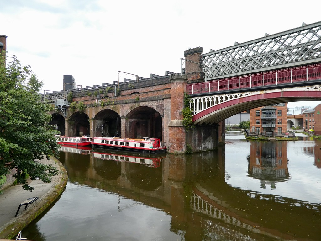 Rochdale Canal at Castlefield, Manchester