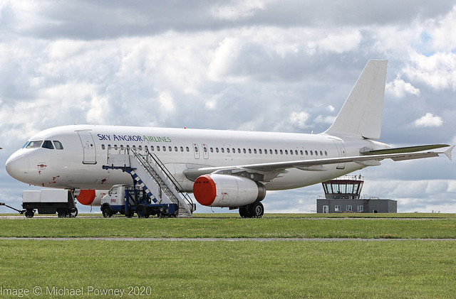 LY-NVY - 2002 build Airbus A320-232, stored at Kemble