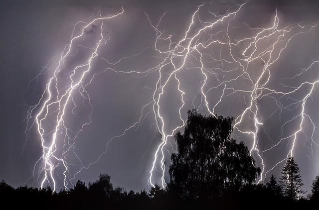 Lightning in Arnhem