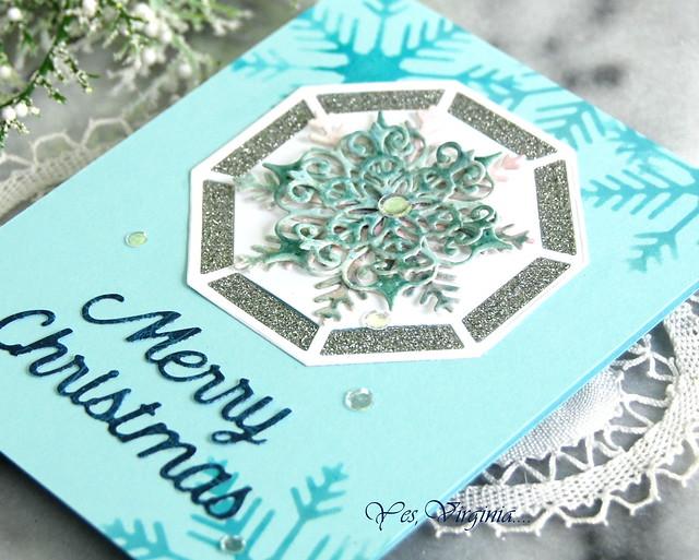 Snowflake Splendor Etched Dies -003