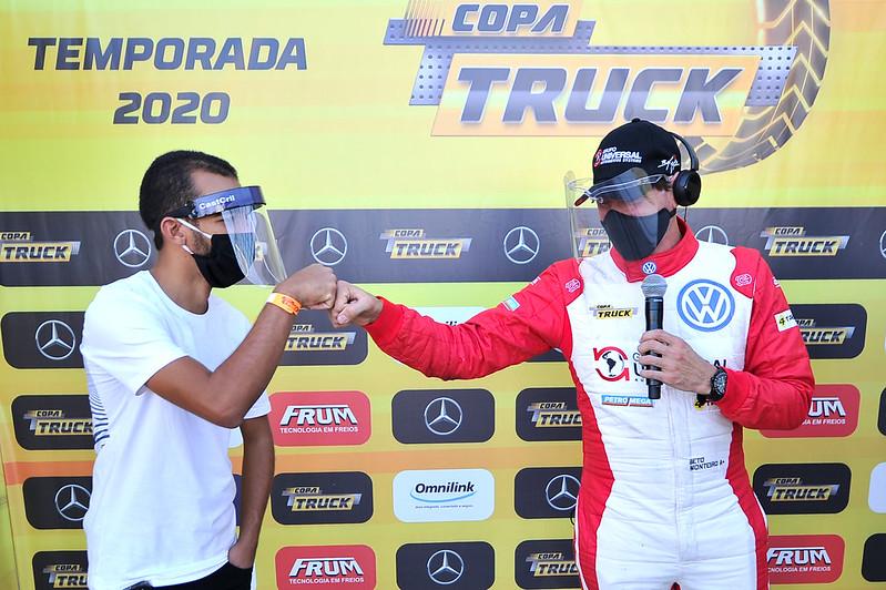 15/08/20 - Sábado de treinos classificatórios da Copa Truck em Goiânia - Fotos: Duda Bairros