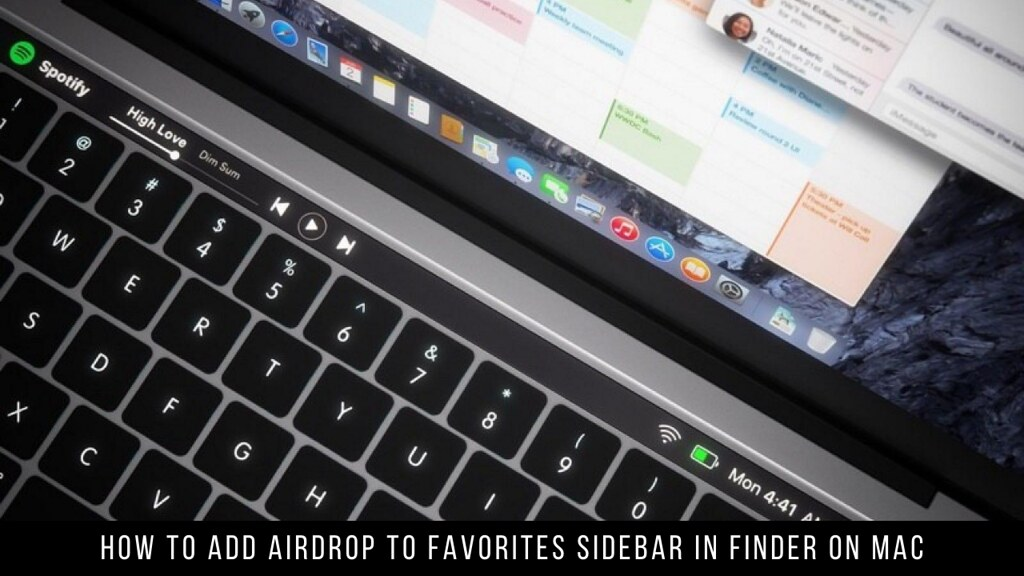 How to Add AirDrop to Favorites Sidebar in Finder on Mac