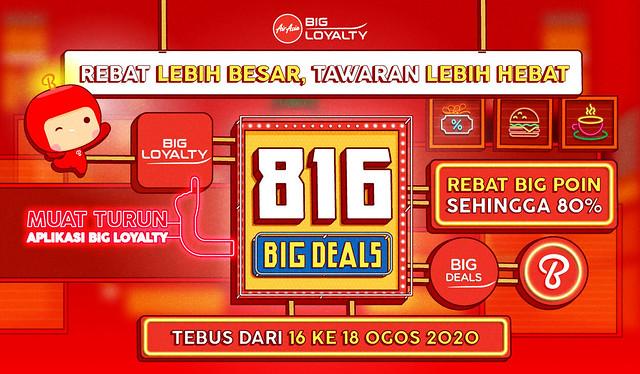 BIG Loyalty Tawarkan Rebat BIG Poin dalam Jualan 816 BIG Deals