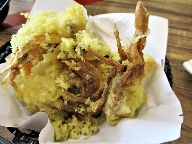 Spider tempura
