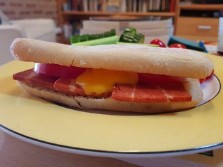 Cheese and Bacon Sandwich