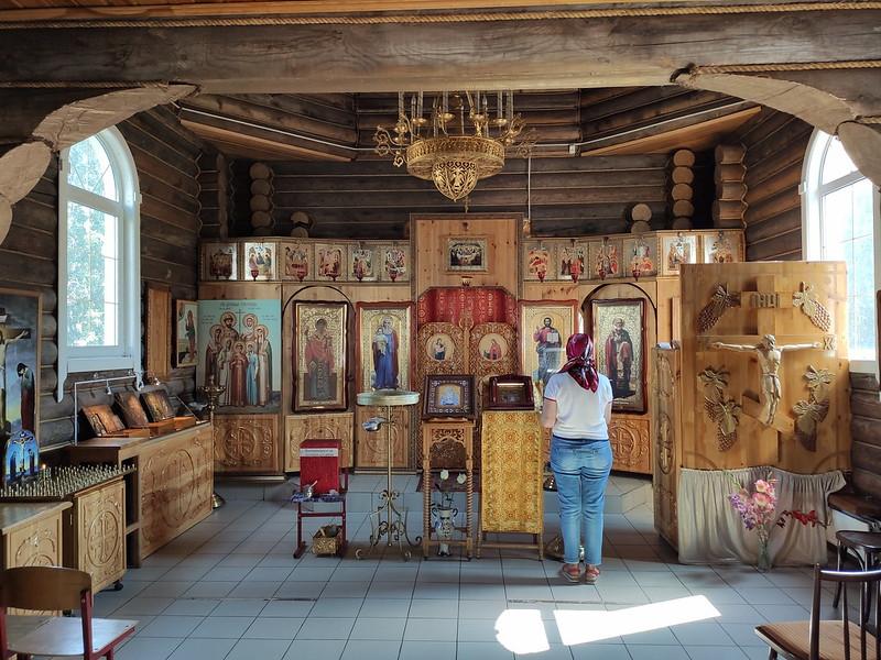 Ленинск-Кузнецкий - Внутри храма Святой княгини Елизаветы