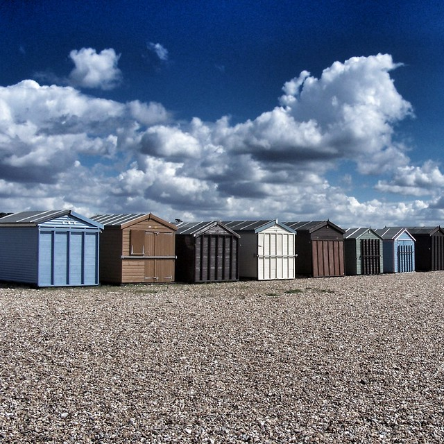 Huts on Hayling