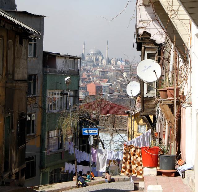 Scenery in Istanbul