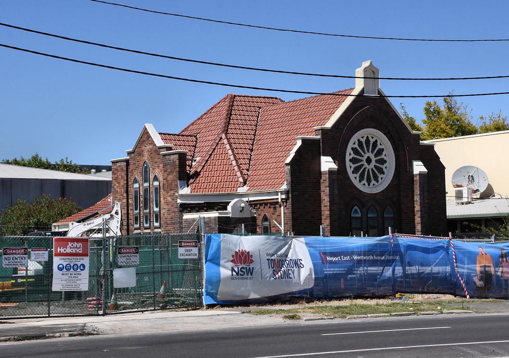 Former Uniting Church, Mascot, Sydney, NSW.