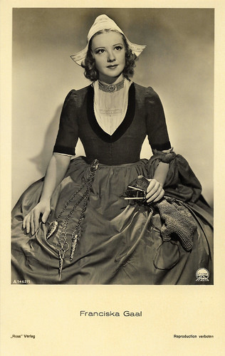 Franziska Gaal in The Buccaneer (1938)