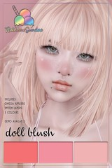 *Rainbow Sundae* Doll Blush & Freckles for So Kawaii Sundays