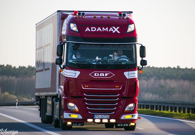 DAF XF106 SSC   Adamax (PL)