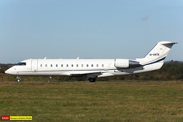 M-ANTA | Bombardier Challenger 850 | Miklos Services