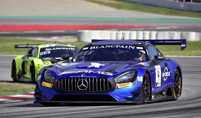 Mercedes-AMG GT3 / Maro Engel / DEU / Luca Stolz / DEU / Yelmer Buurman / NDL / BLACK FALCON