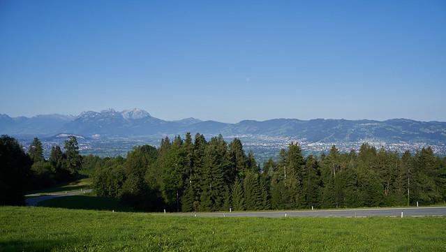 Road to Switzerland