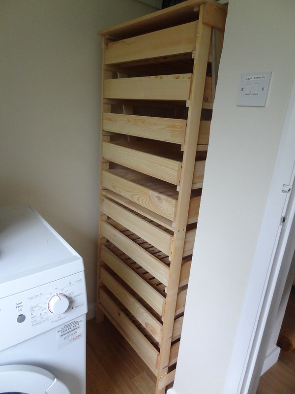 From flat pack to apple rack: All assembled!