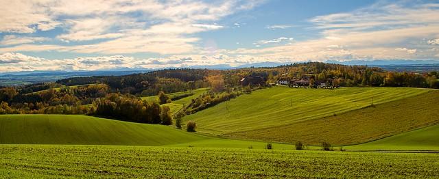 Herbst in Halmstein bei Rotthalmünster, Bayern