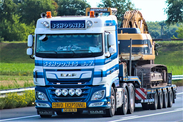 DAF XF106, Schoones, Holland.