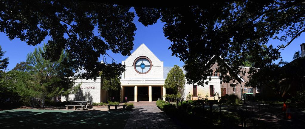 St Martin's Anglican Church, Kensington, Sydney, NSW.