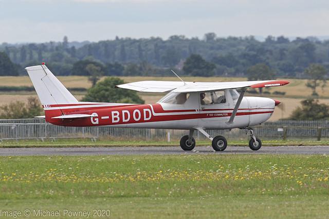 G-BDOD - 1976 Reims built Cessna F150M Commuter, arriving on Runway 26 at Kemble