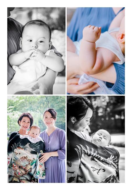 2020年夏の初宮参り 名古屋市 祝い義は黒 男の子赤ちゃん