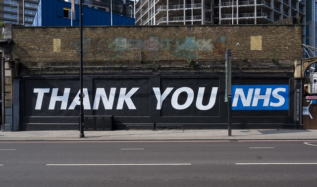 Thank You NHS, Artist Not Known