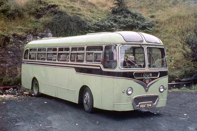 Morlais Services Ltd . Merthyr Tydfil , South Wales . RBX394  . The Traction Yard , Merthyr Tydfil , South Wales . Monday morning 30th-August-1971