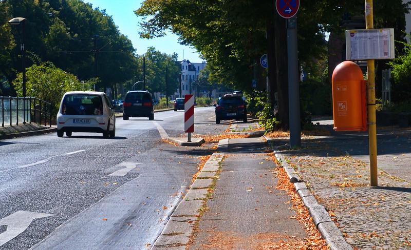 Radweg Berliner Straße/Pasewalker Straße