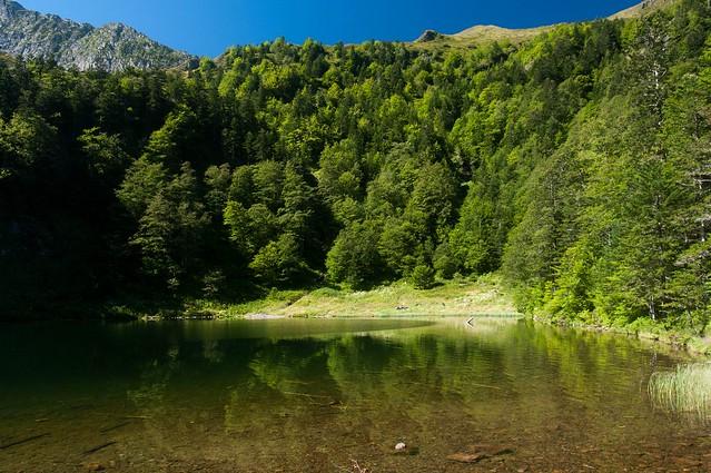 Tour Cascade d'Ars-étang de Guzet (Ariège)
