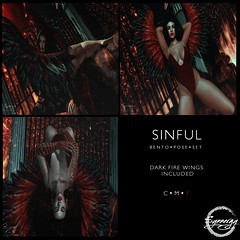 Sinful Pose Set @Mainstore Release