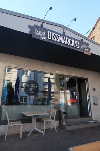 Burger Loge im Restaurant Bissmarck 52 in Herne