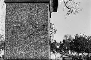 Benjamin Webster, memorial, Brompton Cemetery, West Brompton, Kensington & Chelsea, 1987 87-12b-32-positive_2400