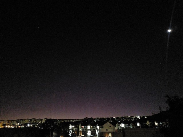 Orion, Sirius, Procyon, The Moon, and Mercury!, Johannesburg, via mobile