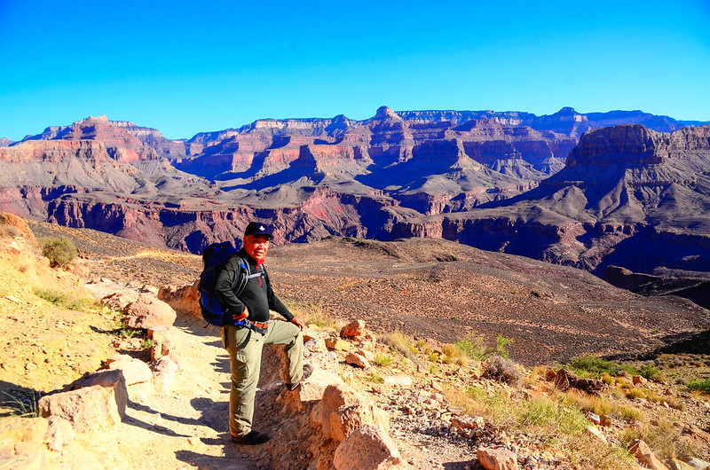 Me on the South Kaibab Trail near The Tipoff