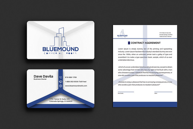 Business card and Stationery Design.