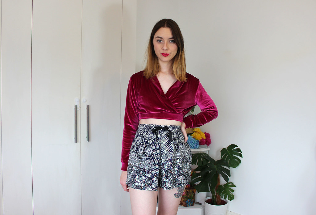 Second Hand Patterned Shorts