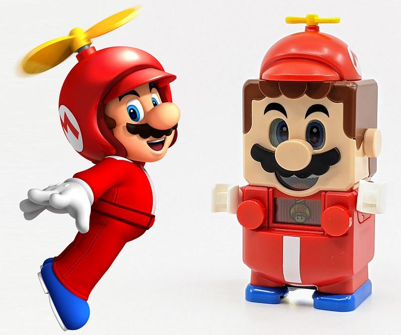 LEGO Mario Characters Propeller