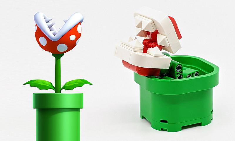 LEGO Mario Characters Piranha
