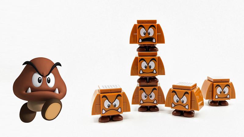 LEGO Mario Characters Goomba