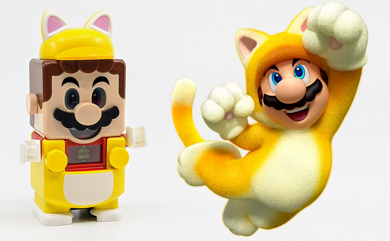 LEGO Mario Characters Cat