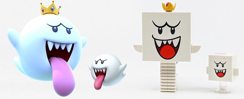 LEGO Mario Characters Boos