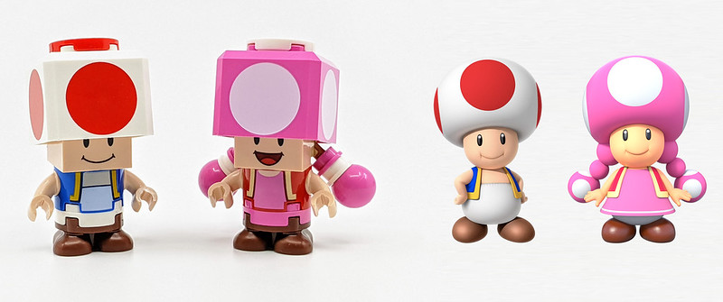 LEGO Mario Character Toads