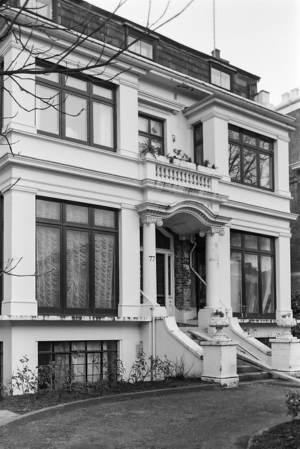 Addison Rd, Holland Park, Kensington & Chelsea, 1987  87-12d-35-positive_2400